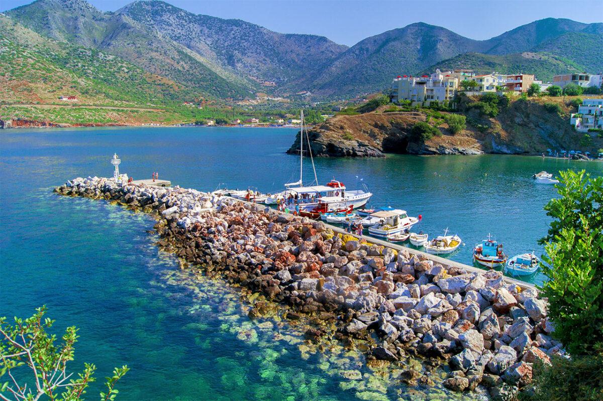 North coast of Crete